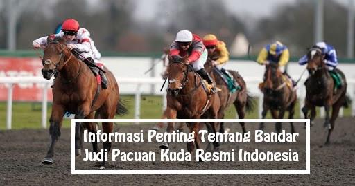 Informasi Penting Tentang Bandar Judi Pacuan Kuda Resmi Indonesia